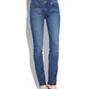LUCKY BRAND SOFIA STRAIGHT BLUE ANKLE JEANS 6/28